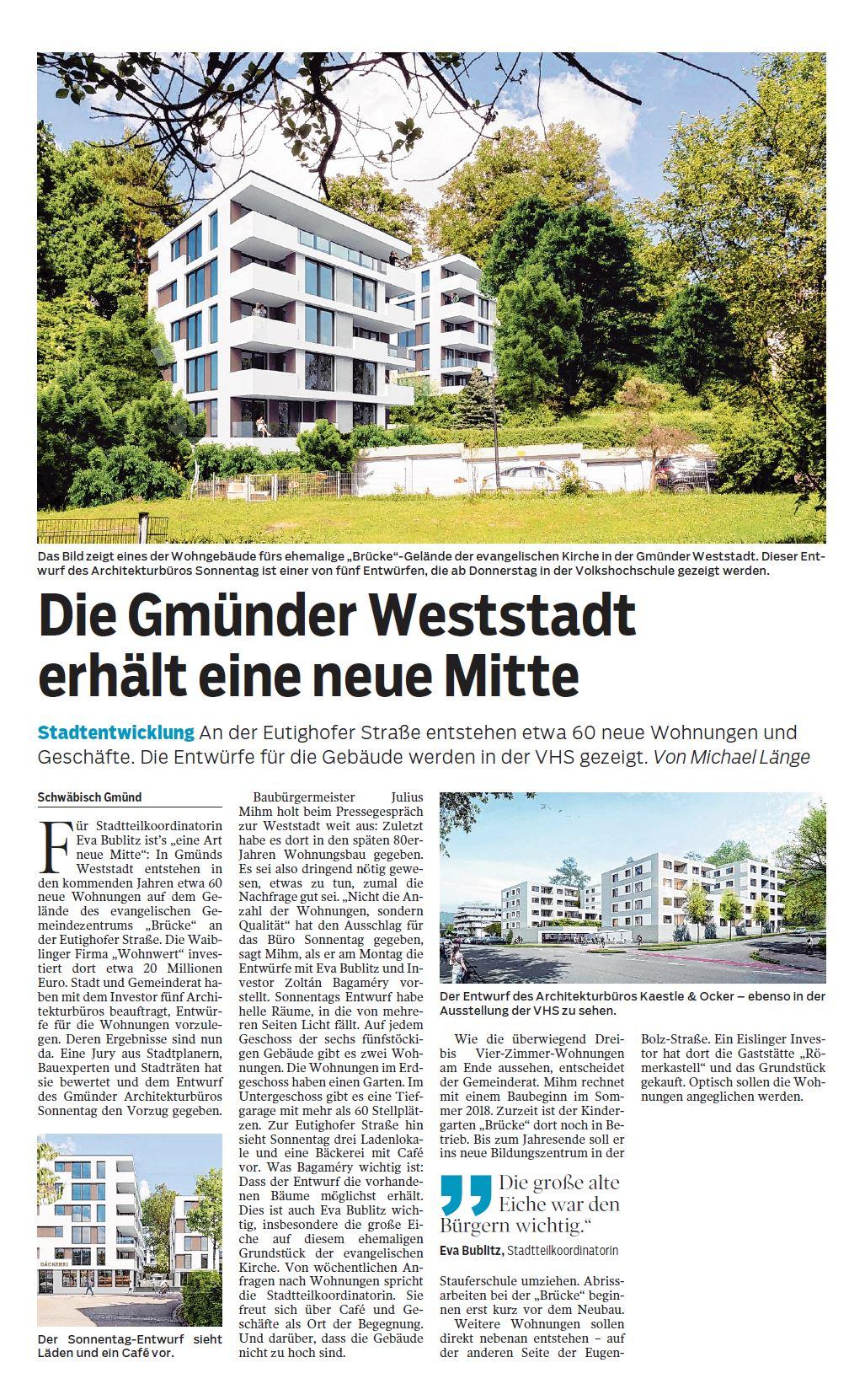 Gmünder Tagespost 04-07-2017